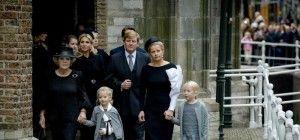 Niederländische Königsfamilie gedachte Prinz Friso