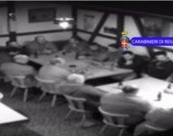 Mafiatreffen am Bodensee gefilmt