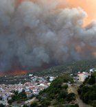 Peloponnes: Feuerwehr hat Waldbrand unter Kontrolle