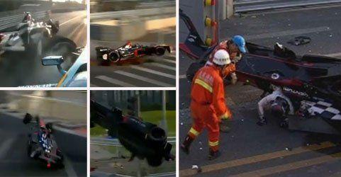 Formel-E-Saisonstart von üblem Heidfeld-Crash überschattet