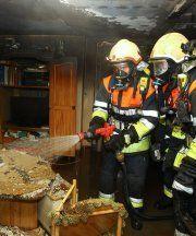 Keine Verletzten nach Feuer in Abstellkammer