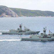 Russische Marineschiffe vor Australiens Küste abgezogen