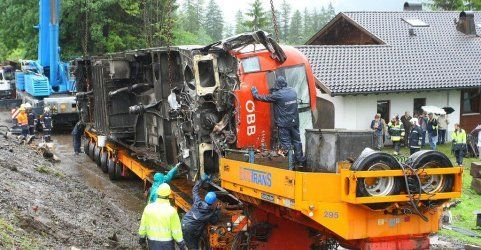 Braz: Zug entgleist - 50.000 Euro Schmerzensgeld für Lokführer