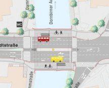 Stadtstraße Dornbirn – Sanierungsarbeiten liegen vor dem Zeitplan