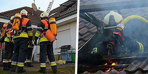 Hörbranz: Zimmerbrand zwingt Familie zur Flucht aus Wohnhaus