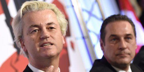 """Wilders auf Anti-Islam-Tour in Wien: """"Schlagen Sie bitte Alarm"""""""