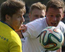 Das VfB Hohenems Trio Infernale erlegt FC Egg