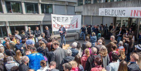 Ländle-Lehrer protestieren gegen die geplante Arbeitszeiterhöhung