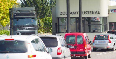 """""""Verpfeifen"""" Ländle-Zöllner Schweizer Einkaufstouristen?"""