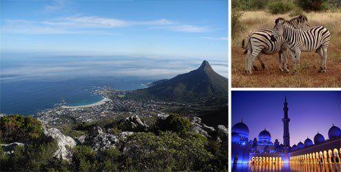Melanie und Michaels Weltreise: Von Südafrika bis nach Indien