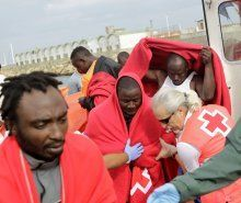 Flüchtlinge finden in Lech Unterschlupf