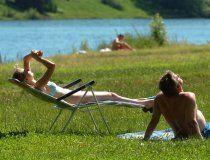 Nackt-Randale auf Donauinsel