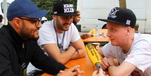 Szene Openair 2015 in Lustenau: Die Rapper von K.I.Z. im Interview