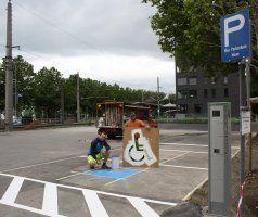 Parkplätze für Lochau