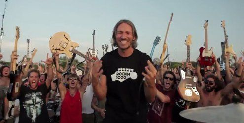 1.000 Musiker wollen Foo Fighters mit Video nach Norditalien holen