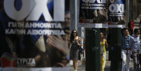 Stürzt die griechische Regierung über das Votum der Bevölkerung?