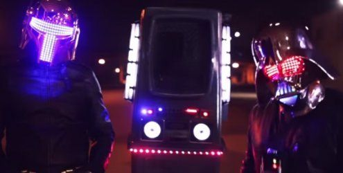 LEDs en masse in diesem genialen Star Wars x Daft Punk Mash-Up!