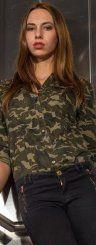 Safari-Look  Einfach cool! Gloria aus Dornbirn punktet heute in einem Outfit in Safari-Look.  Foto: VN/Steurer