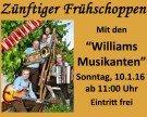 """Frühschoppen mit den """"Williams Musikanten"""""""