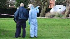 Mann zündet sich vor Kensington-Palast an: tot