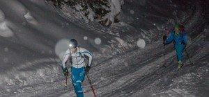 Skibergsteiger treffen sich im Montafon