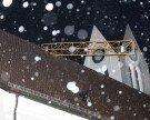 Heftige Sturmböen fegten über Vorarlberg – Kran fällt auf Kirchendach