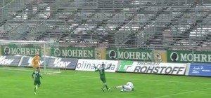 VIDEO! Elferpfiff im Reichshofstadion blieb aus, Langenegg verlor