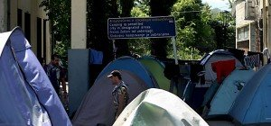 Polizei begann mit der Räumung des Camps von Idomeni