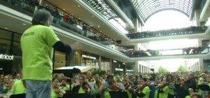 Der etwas andere Flashmob: Symphonic Mob