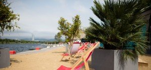 Stadt-Strand Copa Cagrana im heurigen Jahr noch größer