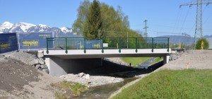 Baustelle Ratzbachbrücke abgeschlossen
