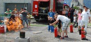 Feuerwehr hautnah erleben