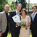 Hochzeit von Juliane Nigg  und Clemens Unterthiner