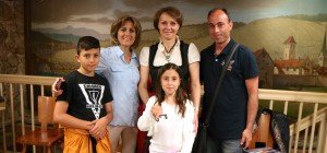 Führung mit Flüchtlingen im Schattenburgmuseum