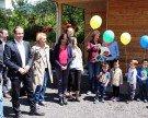 Offizielle Eröffnung des Kindergartens Eisplatzstraße