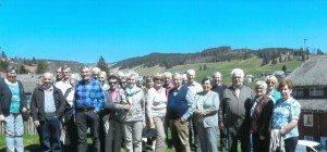 Schoppernauer Senioren in Freiburg