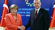 Merkel traf Erdogan: Fragen nicht geklärt