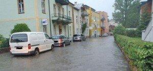 Unwetter führten am Wochenende zu schweren Schäden in Österreich
