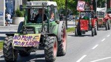 """""""Bauern-Aufstand"""" bei der Monsanto-Demo"""