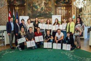 Vorarlberger Schüler überzeugten bei Rede-Wettbewerb