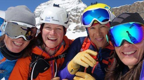 Freeriderin Lorraine Huber nach Dreh am Matterhorn ein Filmstar