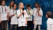 Kinder fordern Ehrlichkeit für eine friedliche Welt