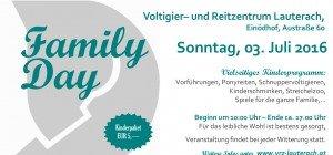 Family Day beim Voltigier- und Reitzentrum Lauterach