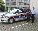 Neues Auto für die Ortspolizei Rankweil