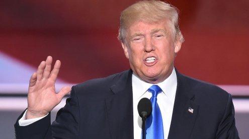 Republikaner schicken Trump ins Rennen um das Weiße Haus