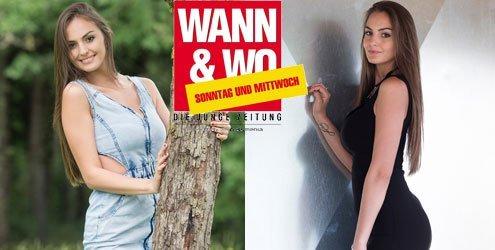 W&W-Fotoshooting mit Dajana