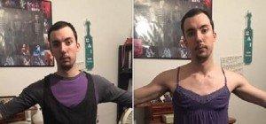 Mann zieht Frauenkleidung an und entdeckt die Kleidergrößenlüge der USA