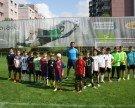 """Begeisterte Juniors beim """"SPARK 7 Fußball Nachwuchs Camp"""""""