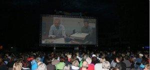 Schlussspurt im großen Kino am Marktplatz