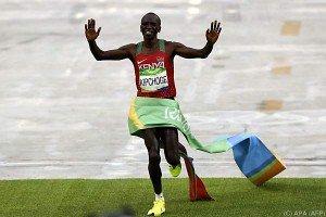 Kenianer Kipchoge gewann Marathon in 2:08:44 Stunden